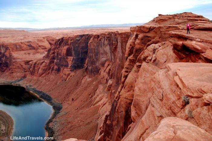 Horseshoe Bend Cliffs
