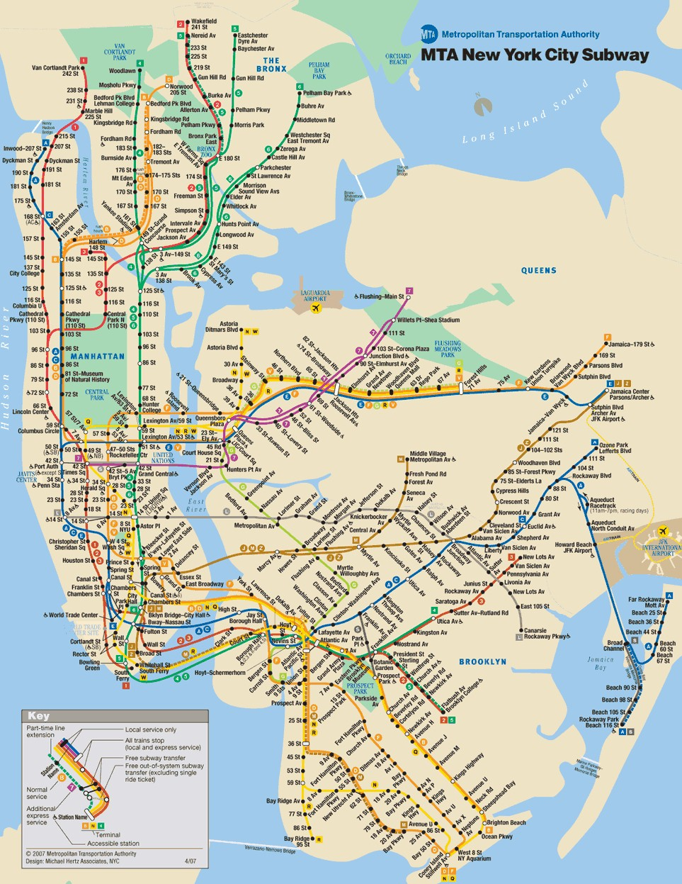 Manhattan Brooklyn Subway Map.New York City On A Budget Life And Travels